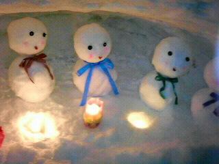 ☆雪だるま祭2008☆