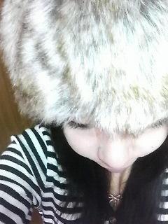 ファー帽子♪♪